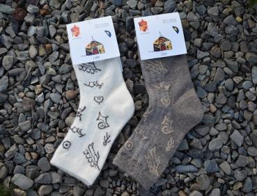 Socken aus Schafwolle